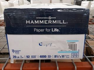 HammerMill 92 Brightness 4000 Sheets Copy Paper