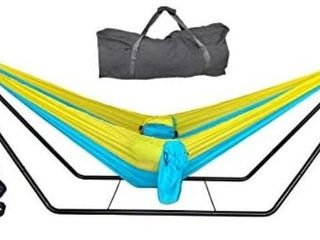 Skyblue Golden Hammock Set
