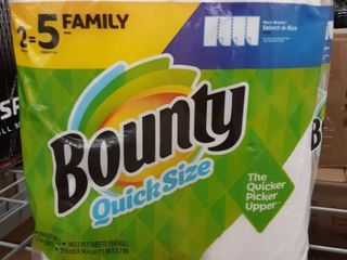 Bounty Quick Size 2 Family Roll Pack Paper Towels