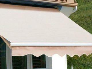 Taylor Made Awning Fabric  Missing Retracting Mechanism
