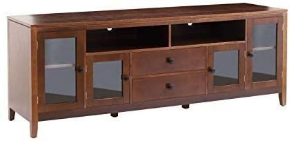 2l lifestyle B07lGGGCFQ TV Stand 72 inch Medium Brown