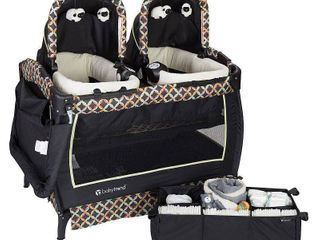 Baby Trend Twins Playard Set   Circle Tech Retail   545 74