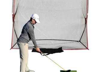 Heavy Duty 10x7 Golf Hitting Net   Perfect Golf Practice Net  Use Indoor  Outdoor  Garage  Backyard  Or In Any Open Field