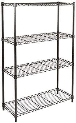 Amazon basics 4 shelf shelving unit