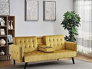 US Pride Furniture Sofabed  Sleeper Vivid Yellow