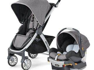 Chicco Bravo Travel System   lilla Retail   759 98