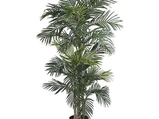 Nearly Natural 6 5  Golden Cane Palm Silk Tree Retail   293 79