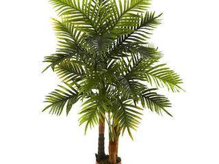 4  x 3  Artificial Areca Palm Tree Green   Nearly Natural  Adult Unisex