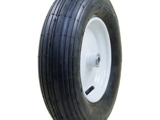 Marathon Industries 20063 4 80 4 00 8 Inch Pneumatic Tire with Ribbed Tread