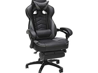 Racer Style Gaming Chair Gray