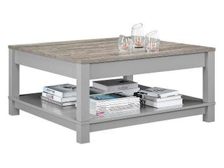 Carver Coffee Table   Gray Sonoma Oak   Ameriwood Home
