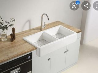 Ceramic Farmhouse Kitchen Sink Retail   191 00