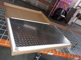 Diamond Plate Aluminum Griddle Cover