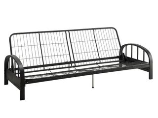 Futon Frame  Dorel Home Products Futon Frame Black
