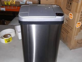 4 gallon stainless steel sensor trash can with deodorizer and fragrance