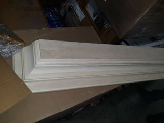 Pearl Mantel unfinished header shelf