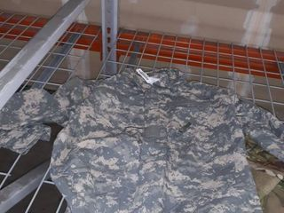 Xl Army Combat shirt and Xl coveralls