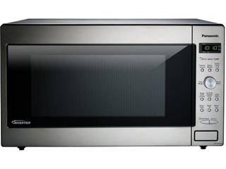 Panasonic Genius Sensor 2 2 Cu  Ft  1250W Microwave Oven with Inverter Technology