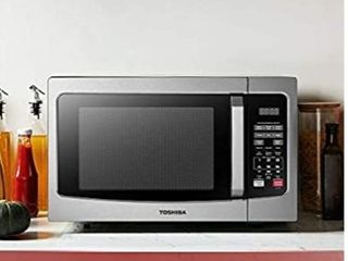 Toshiba Em131a5c ss Microwave Oven With Smart 1 2 Cu ft  Stainless Steel