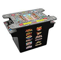 Arcade1Up   Deluxe 12 in 1 Head to Head Cocktail Table with Split Screen Street Fighter Retail   429 99
