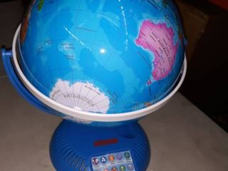 Interactive World Globe With Stand And Smart Pen   Engaging  Colorful Geographic