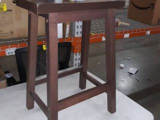 Brown stool 2 ft tall