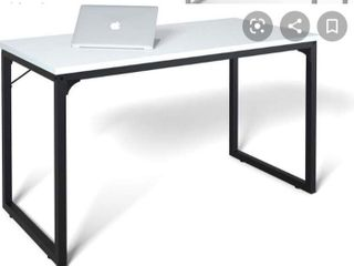 Coleshome White Office Desk