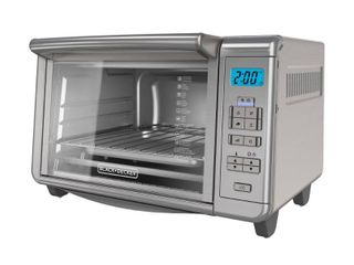 BlACK DECKER 6 Slice Digital Convection Toaster Oven  Stainless Steel  TO3280SSD