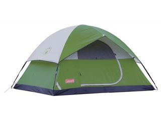 Coleman Sundome 4 Person Dome Tent   stakes not included