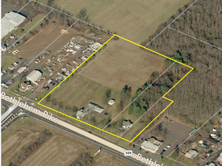 Online Real Estate Auction- 7.45 Acres of High Visible Commercial Property on Rt. 309, Hatfield, PA