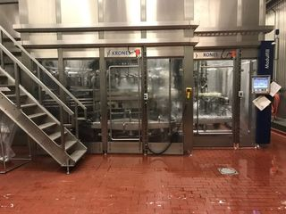 Krones 150 PPM Gallon Jug Filling Line