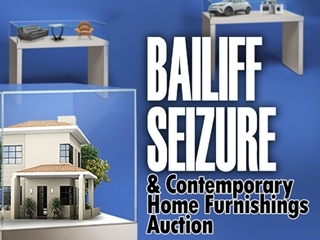LIVE Stream: Bailiff Seizure & Contemporary Home Furnishings Auction