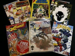Marvel Spider Man No  1  Ghost Rider No  15 Textur
