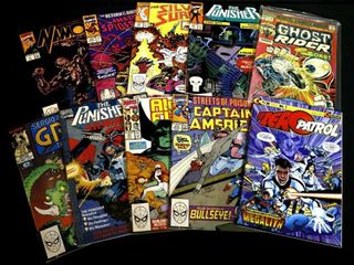 Ghost Rider No  14  The Punisher Vol 1  No  1 and