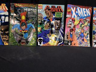 Superman No  82  X Men Vol 1  No  1 and Vol 1  No