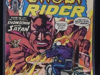Marvel Ghost Rider No  9 1972  Marvel Captain Ame