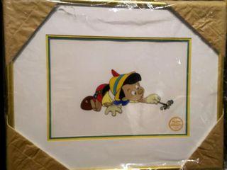 Pinocchio Serigraph  Walt Disney