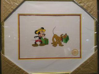 Mr  Mouse Takes A Trip Serigraph  Walt Disney