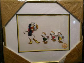 Mr  Duck Steps Out Serigraph  Walt Disney