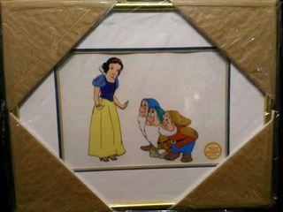 Snow White Serigraph  Walt Disney