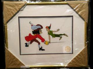 Peter Pan Serigraph  Walt Disney