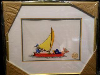 No Sail Serigraph  Walt Disney