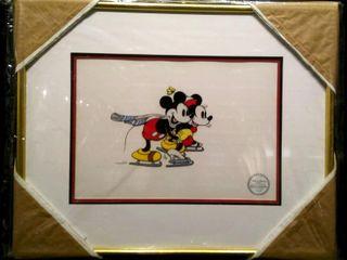 On Ice Serigraph  Walt Disney