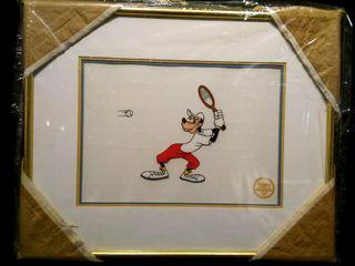 Tennis Racket Serigraph  Walt Disney