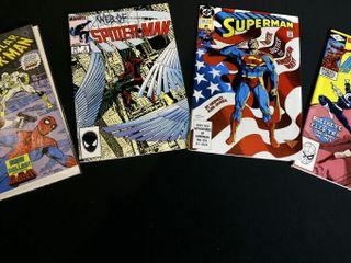 Spiderman No  3  No  143  Superman No  53