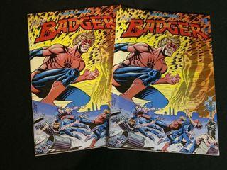 Badger  Superman Action  DC Detective