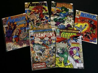 Marvel Champions No  3  DC Green lantern No  46 1