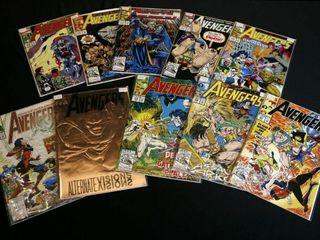 Marvel Avengers  Qty 10  No  338    352  353  354