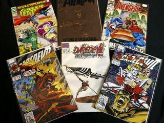 Marvel Daredevil No  311  313  332  Green lantern