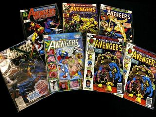 Qty 7  Marvel Avengers